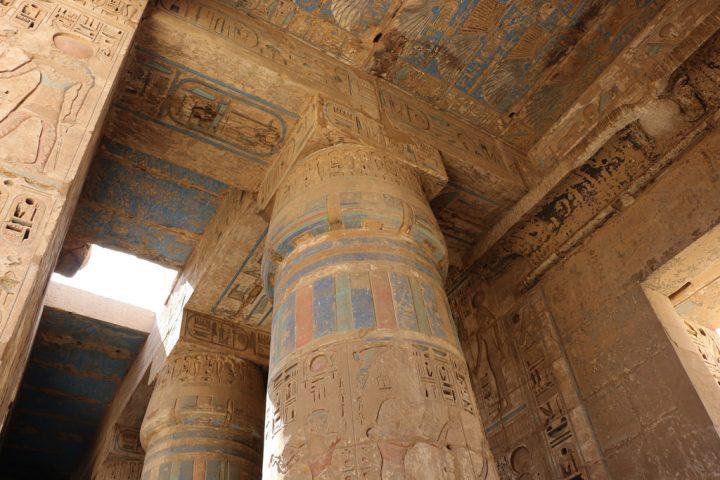 【世界遺産】ラムセス3世葬祭殿|古代都市テーベとその墓地遺跡