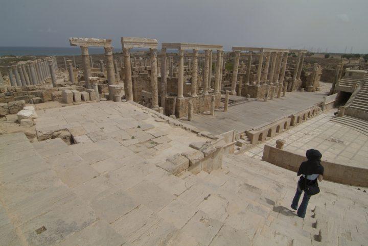 【世界遺産】アウグストゥス帝の劇場|レプティス・マグナの考古遺跡
