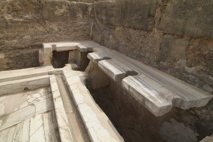 【世界遺産】ハドリアヌス帝の浴場|レプティス・マグナの考古遺跡