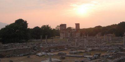 ピリッポイの古代遺跡|ギリシャ...
