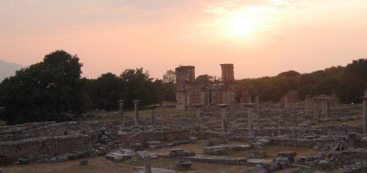 ピリッポイの古代遺跡