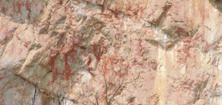 左江花山の岩絵の文化的景観
