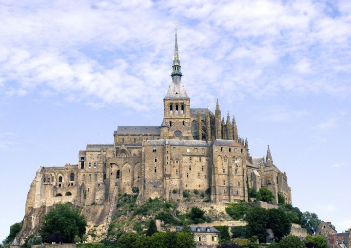 世界文化遺産(モン・サン・ミッシェルとその潟)