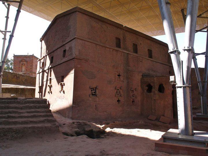 photo credit: Martijn.Munneke Bete Ghenettea Mariam (Huis van Maria), waarschijnlijk de oudste van alle kerken via photopin (license)