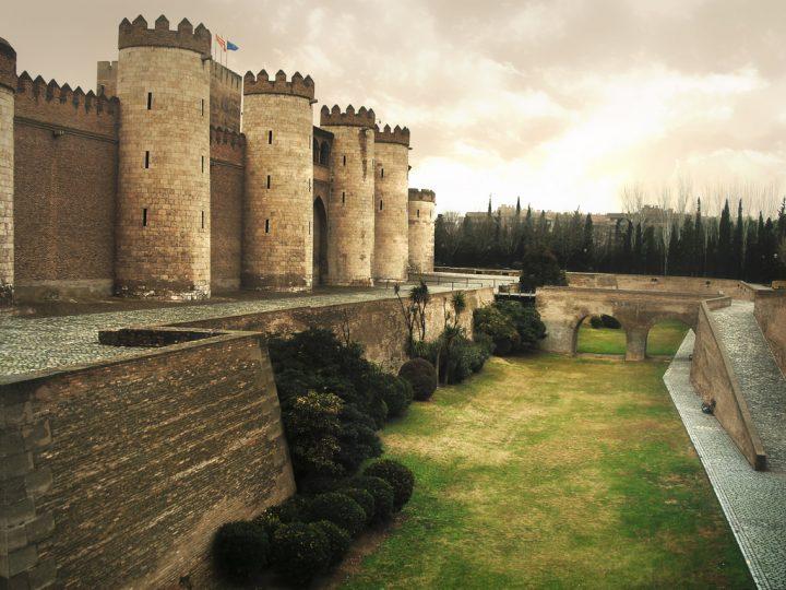 【世界遺産】アルハフェリア宮殿のムデハル様式の遺跡|アラゴンのムデハル様式の建築物