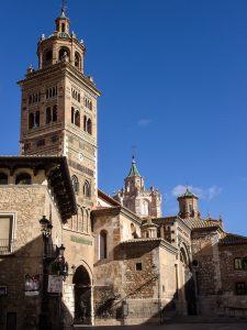 【世界遺産】サンタ・マリア・デ・メディアビーリャ大聖堂(テルエル大聖堂)|アラゴンのムデハル様式の建築物