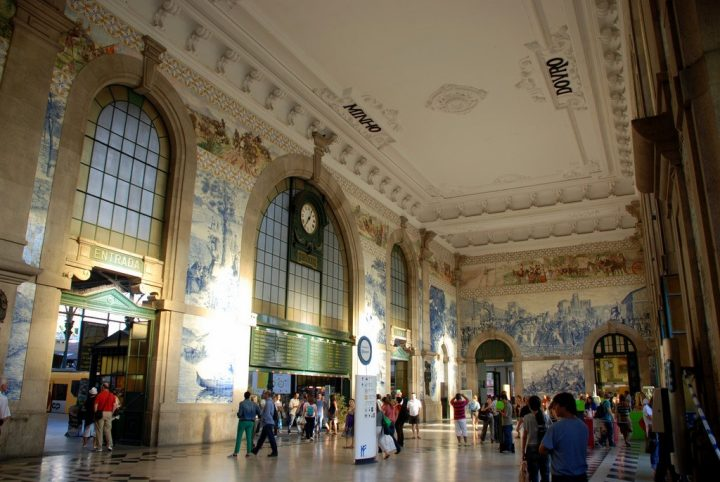 【世界遺産】サン・ベント駅|ポルト歴史地区、ルイス1世橋およびセラ・ド・ピラール修道院