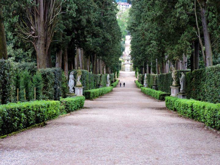 【世界遺産】トスカーナ地方のメディチ家の邸宅群と庭園群
