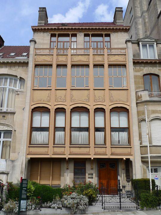 【世界遺産】ヴァン・エトヴェルド邸|建築家ヴィクトル・オルタの主な都市邸宅群 (ブリュッセル)