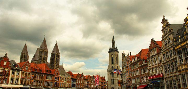 ベルギーとフランスの鐘楼群