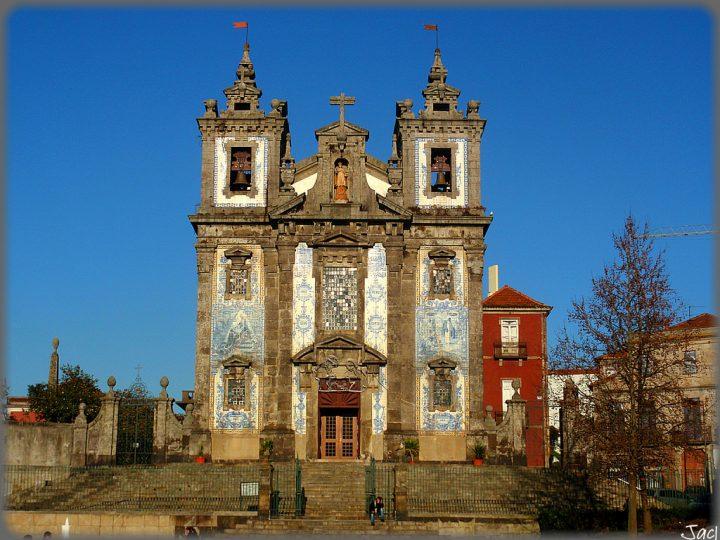 【世界遺産】サント・イルデフォンソ聖堂|ポルト歴史地区、ルイス1世橋およびセラ・ド・ピラール修道院