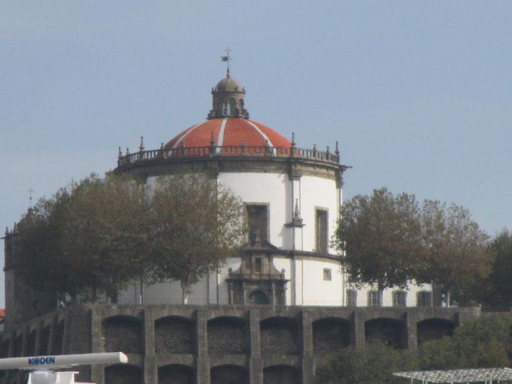 【世界遺産】セラ・ド・ピラール修道院|ポルト歴史地区、ルイス1世橋およびセラ・ド・ピラール修道院
