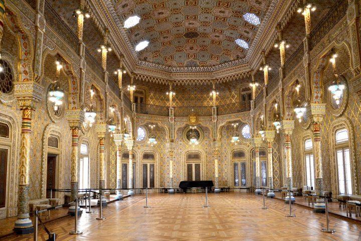 【世界遺産】ボルサ宮|ポルト歴史地区、ルイス1世橋およびセラ・ド・ピラール修道院