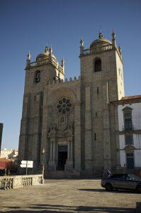 【世界遺産】ポルト大聖堂|ポルト歴史地区、ルイス1世橋およびセラ・ド・ピラール修道院