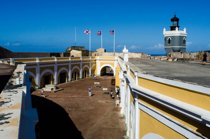 【世界遺産】サン・フェリペ・デル・モロ要塞|プエルトリコのラ・フォルタレサとサン・ファン国定史跡