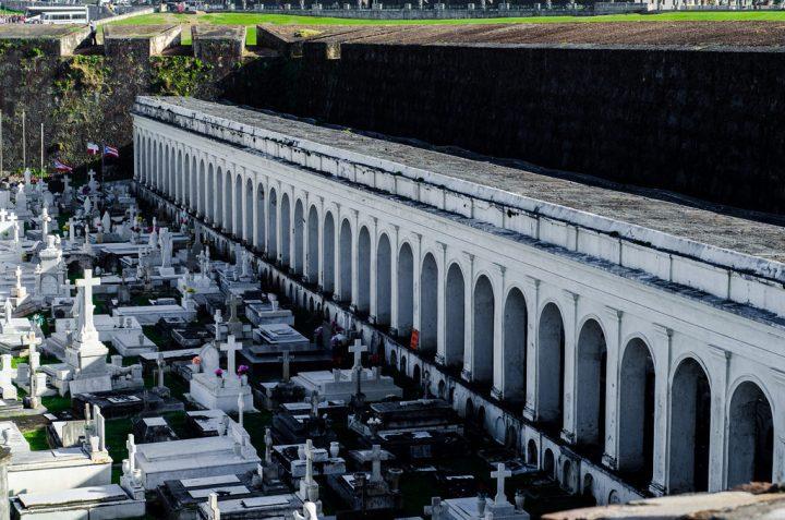 【世界遺産】サン・ファン墓地|プエルトリコのラ・フォルタレサとサン・ファン国定史跡