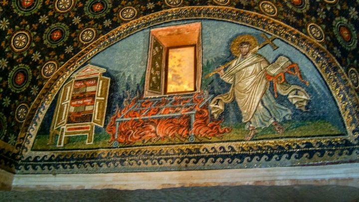 【世界遺産】ガッラ・プラチディア霊廟|ラヴェンナの初期キリスト教建築物群