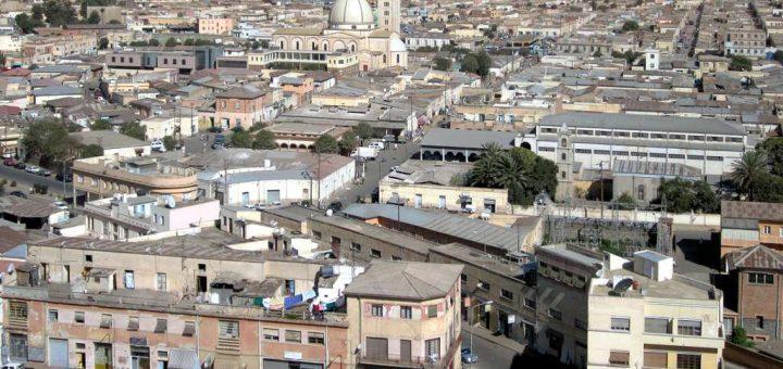 アスマラ:近代主義的アフリカ都市