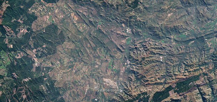 バーバートン・マコンジュワ山脈
